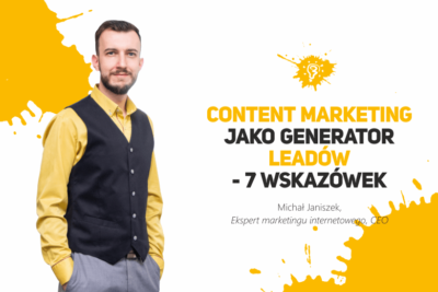 content marketing jako generator leadów